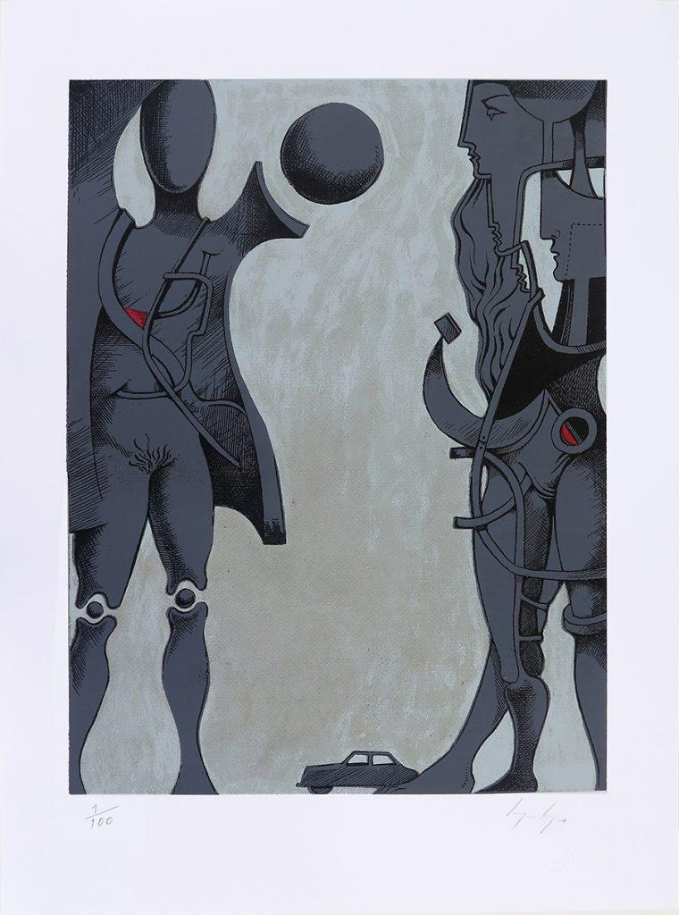 Homenagem ao Corpo, Serigrafia, 70 x 50 cm, 2018