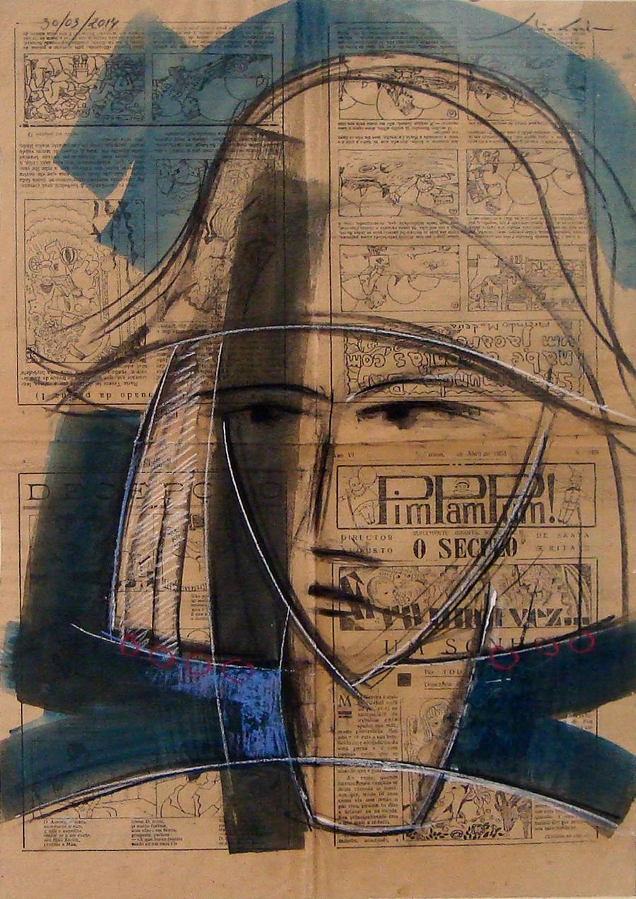 La-commedie-dell-Arte-desenho-sobre-papel-60-x-40-cm
