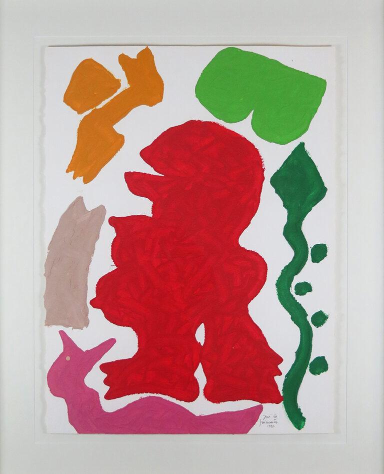 Relevo acrIlico, 76 x 57 cm, 1992