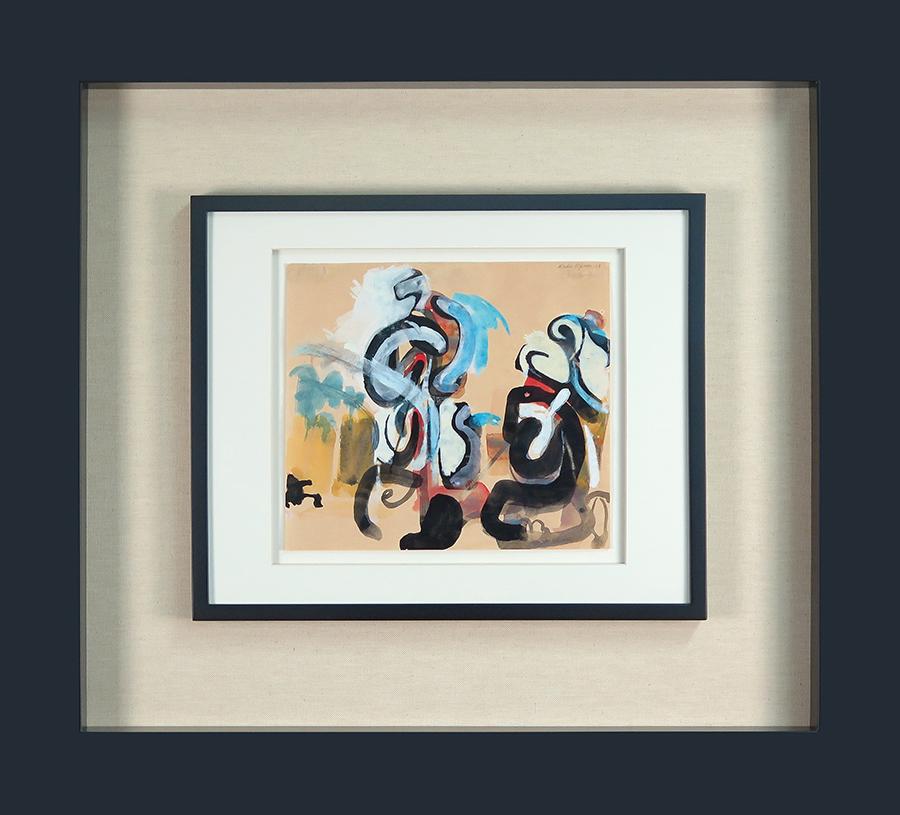 S titulo, guache sobre papel, 21 x 23,5 cm, 1947