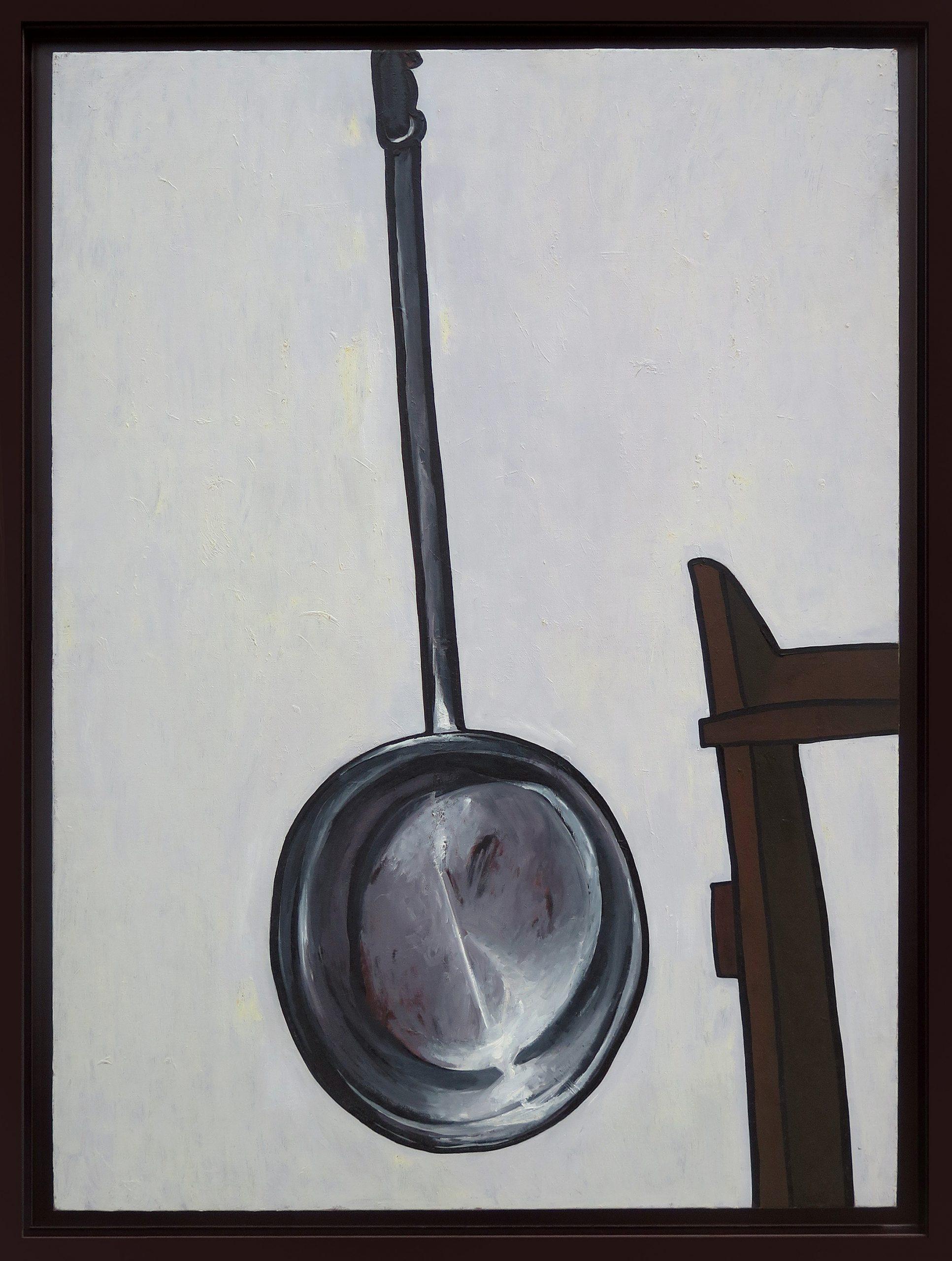 Artefacto 26, óleo sobre tela, 100 x 73,5 cm, 2006