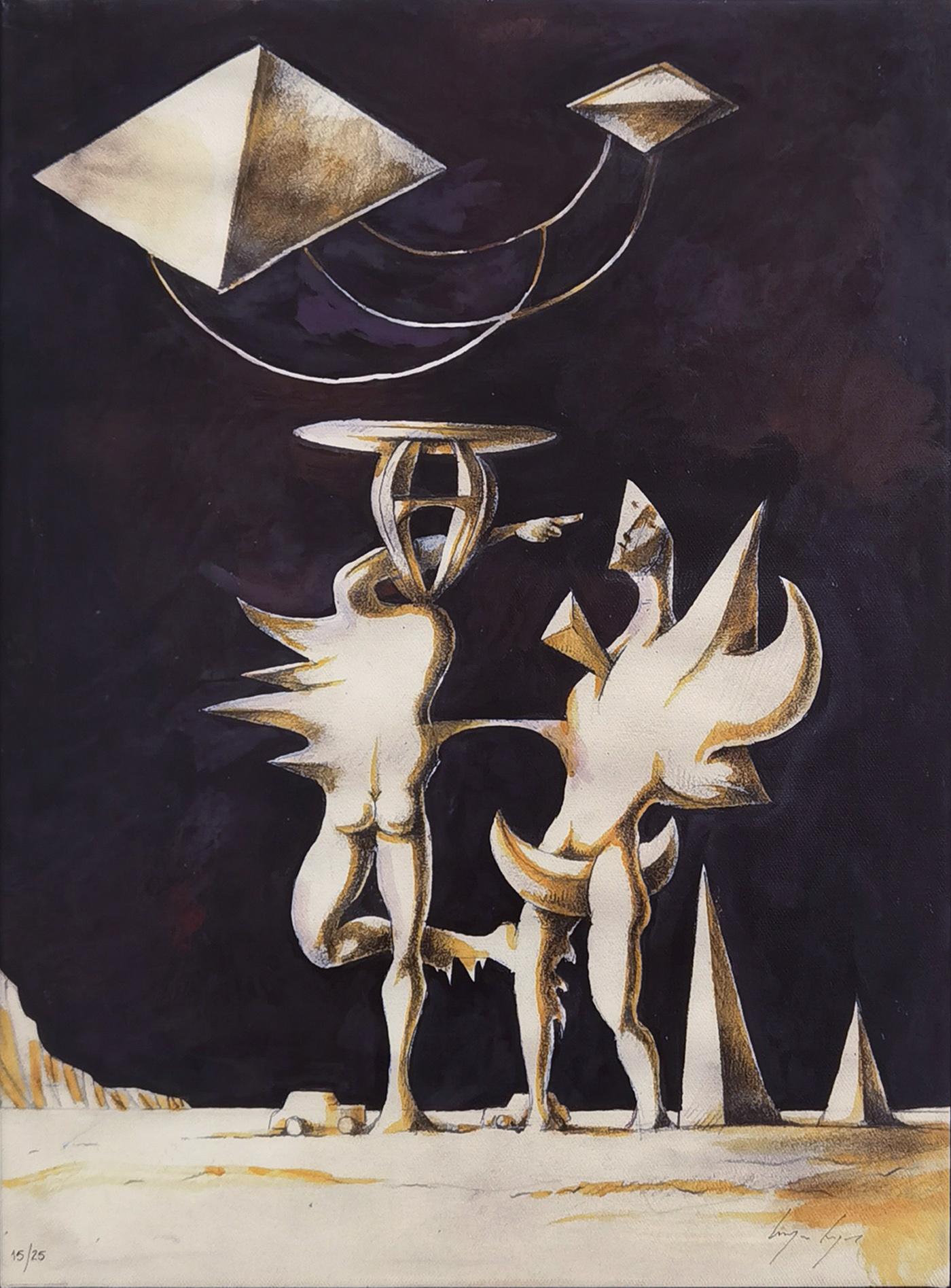 Sem título, giclée fine art nº sobre tela, 50 x 38 cm