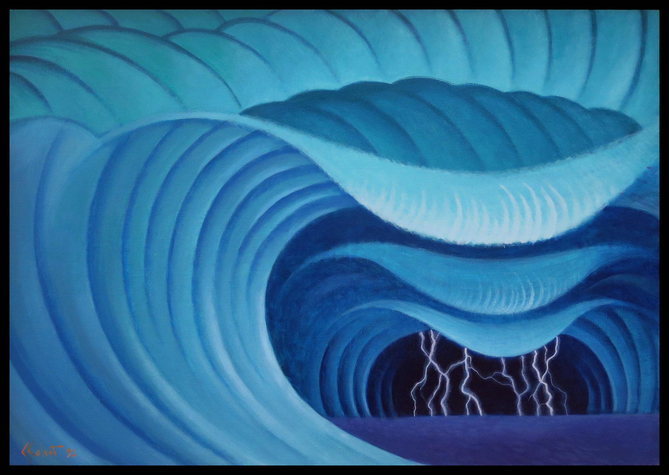 Theatrum Kosmos – 81 x 116 cm, 1992