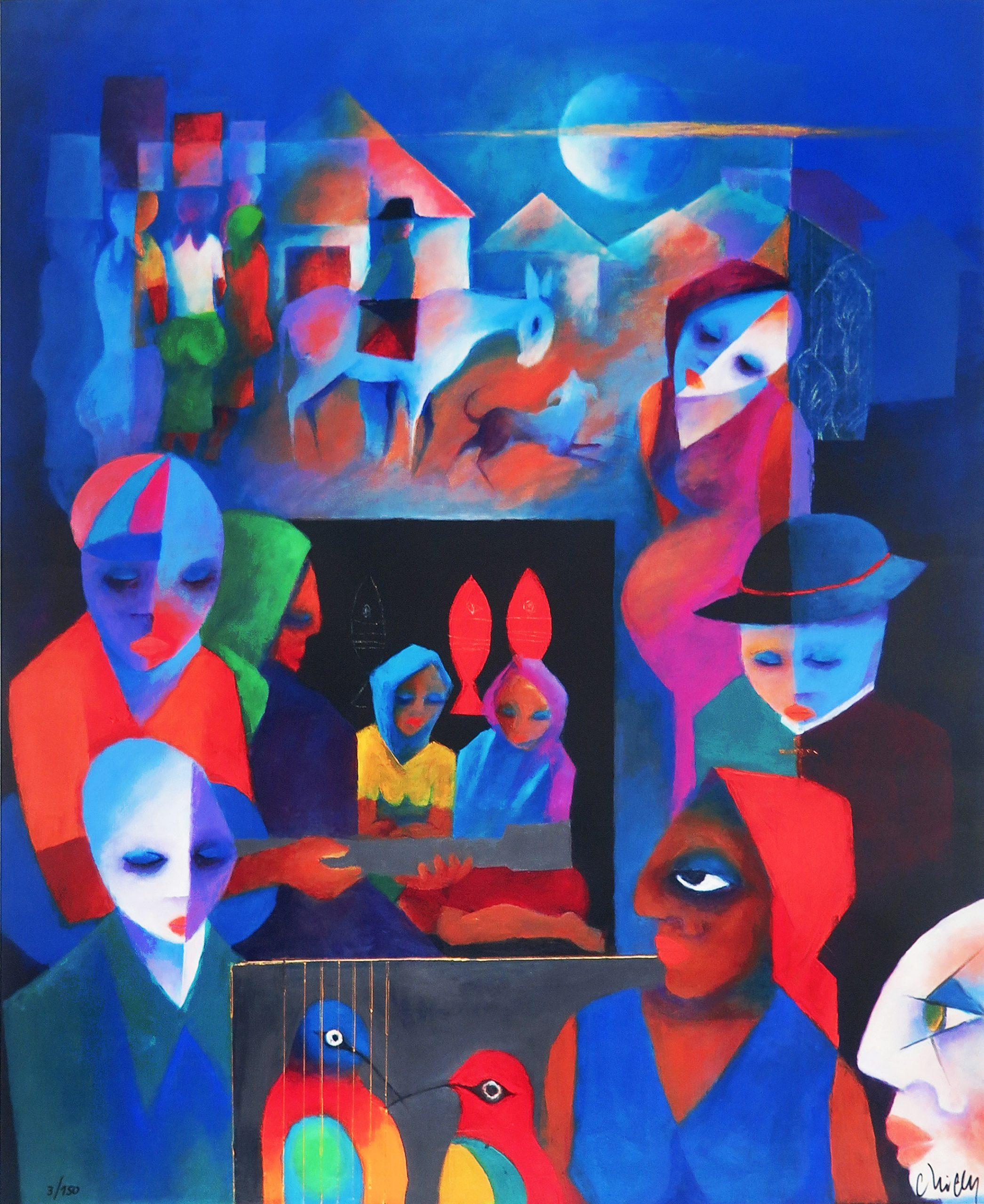 Sem título, giclée fine art sobre tela, 100 x 80 cm