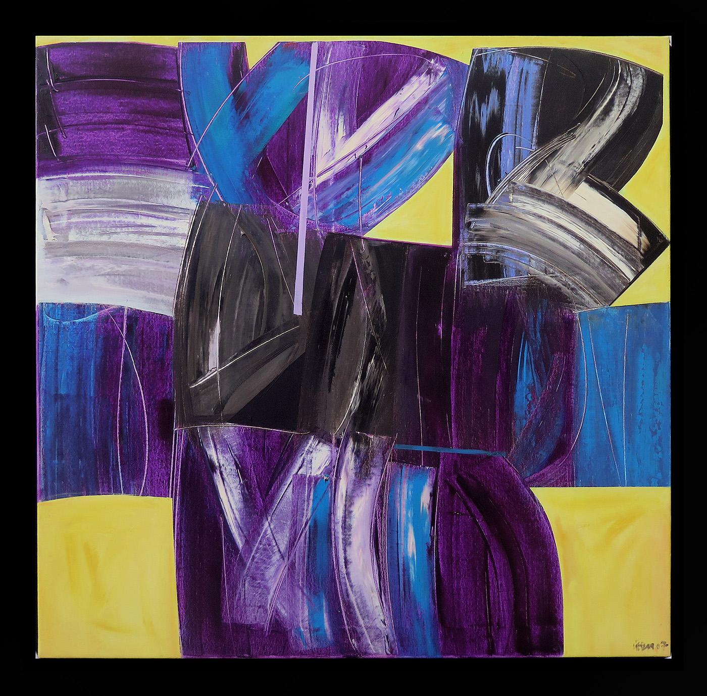Sem título, óleo sobre tela, 100 x 100 cm, 2007