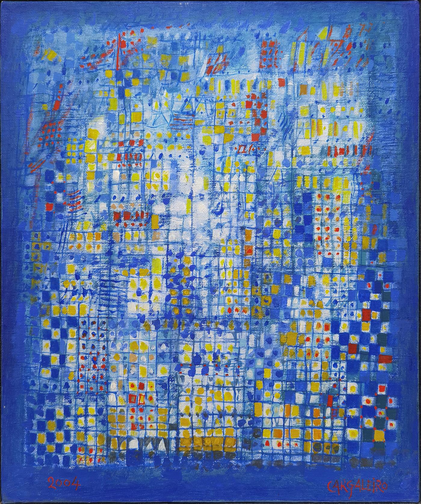 Un jour de brume – Cascais, óleo sobre tela, 46 x 38 cm, 2004