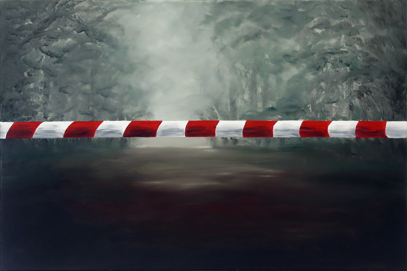 Forbidden, óleo sobre tela, 80 x 120 cm, 2021
